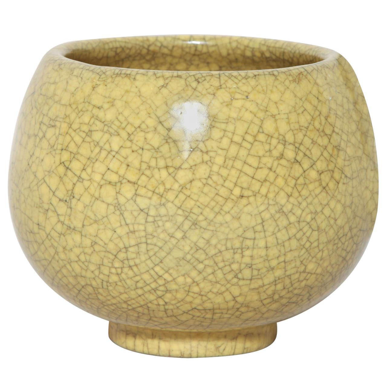Henri Simmen stoneware coupe, 1923-1935