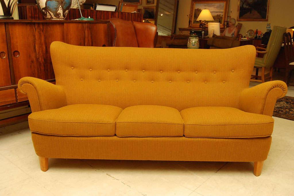 Mustard Sofa Set At 1stdibs