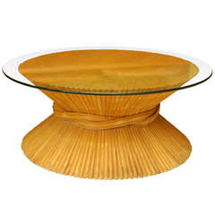 Maguire Wheat-Sheaf Coffee Table