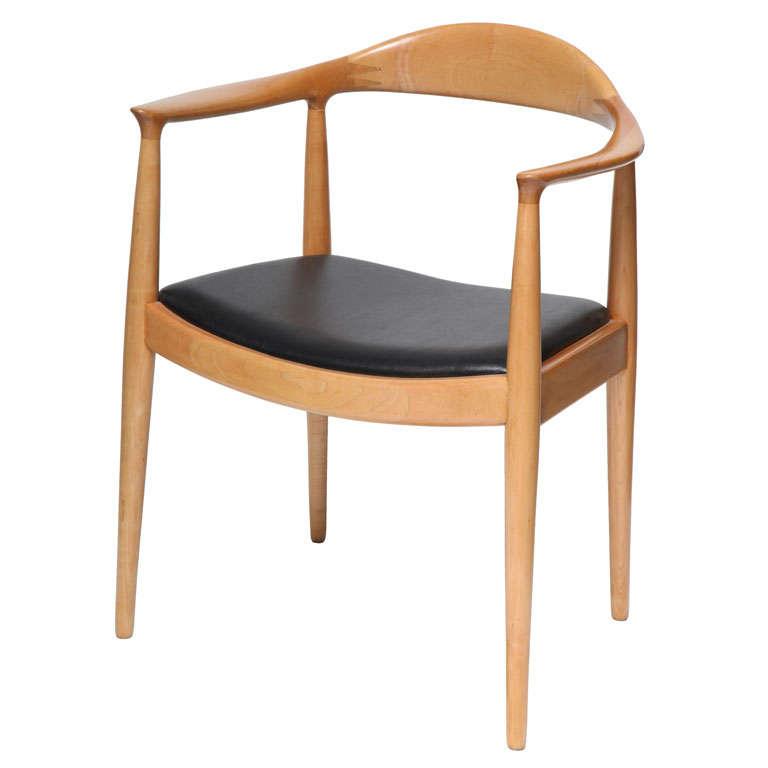 Hans J Wegner The Chair at 1stdibs