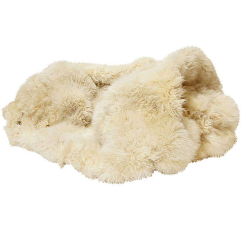Fox Fur Throw