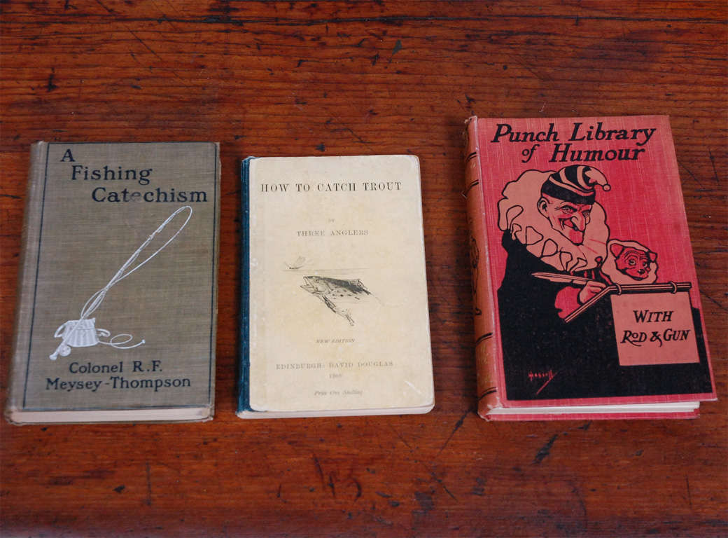 Collection of Books on Trout Fishing 6