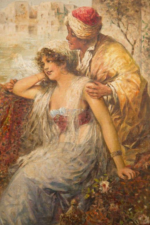 Orientalist Oil On Canvas 4