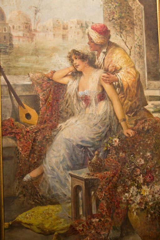 Orientalist Oil On Canvas 2