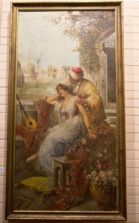 Orientalist Oil On Canvas 5