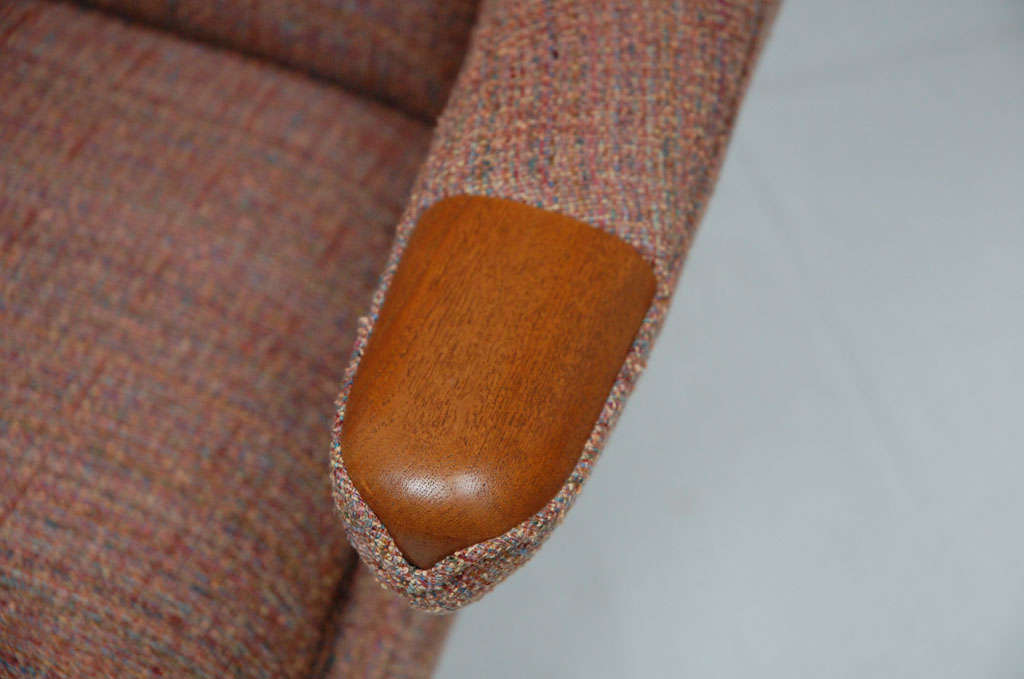Hans Wegner Papa Bear Chair In Excellent Condition For Sale In Los Angeles, CA