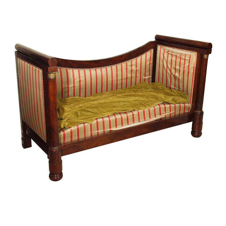 French Empire Style Day Bed Sofa At 1stdibs