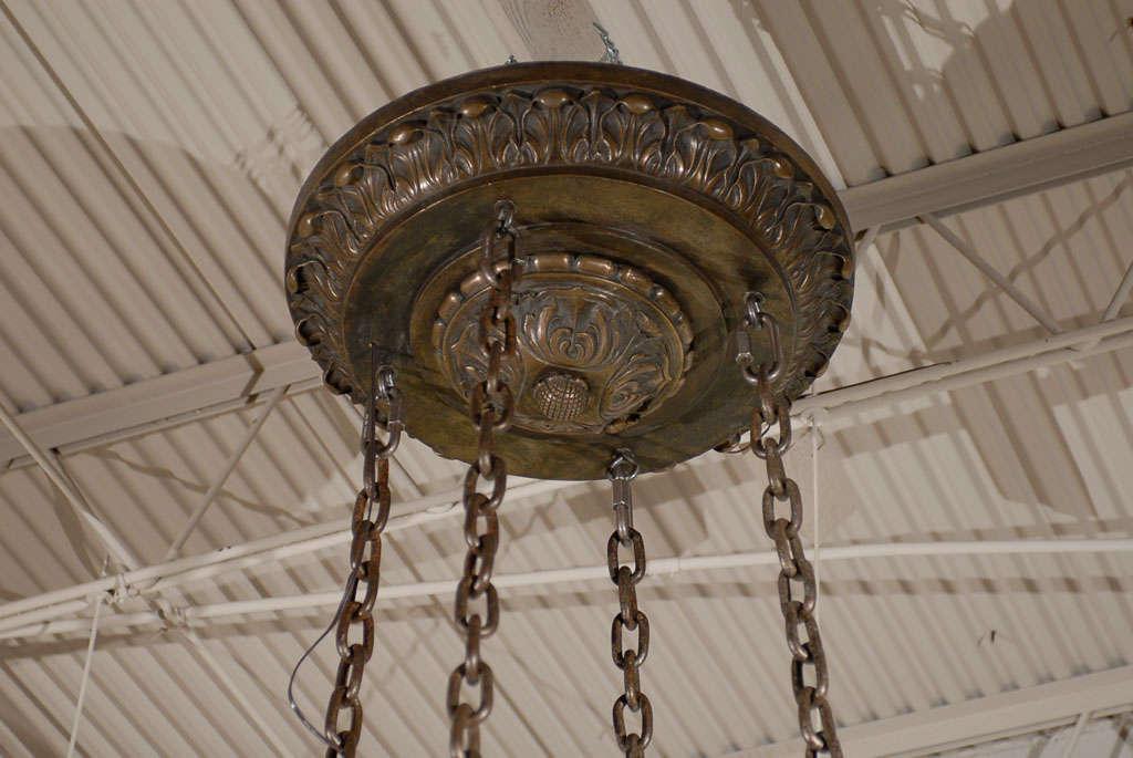 20th Century Cherub Chandelier  For Sale