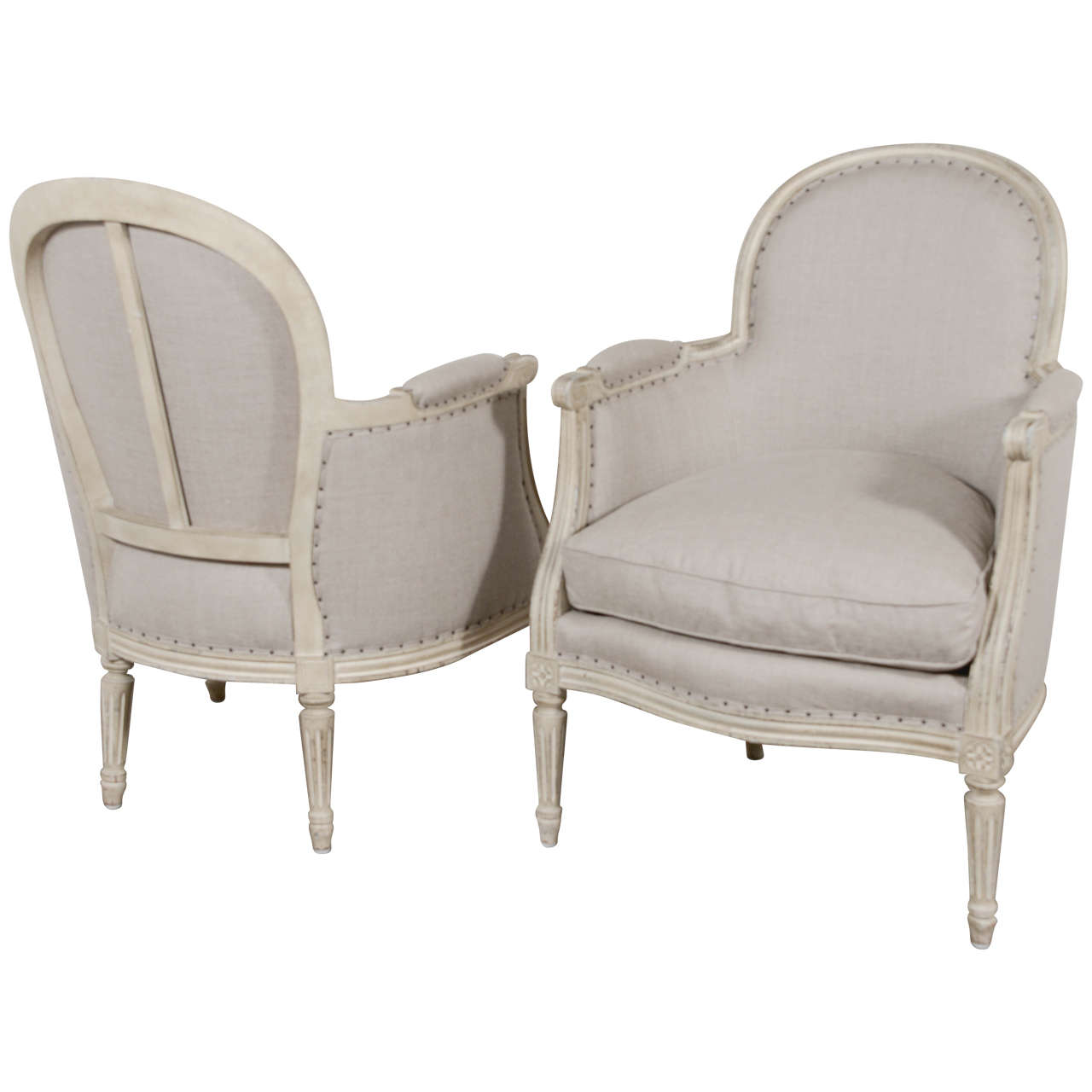 French Louis XVI 19th Century Chairs
