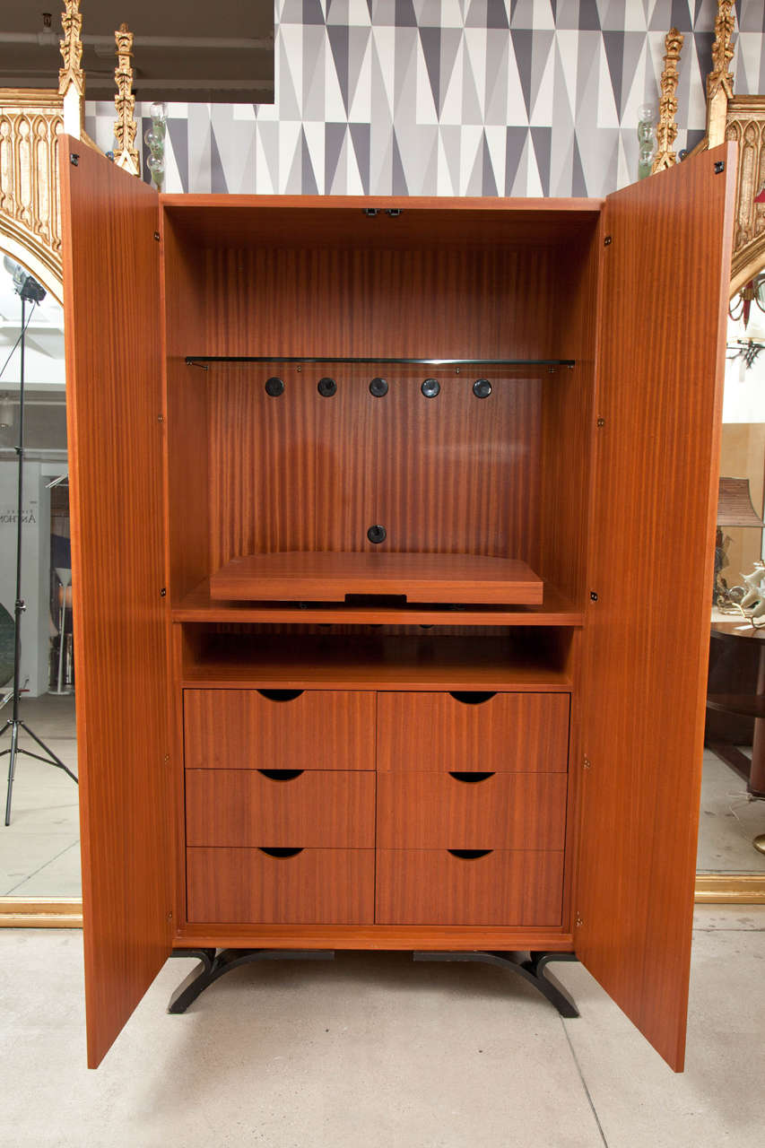 American Dakota Jackson Nuevo Tango Bar Cabinet For Sale