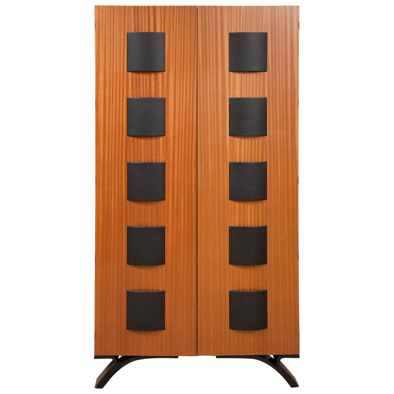 Dakota Jackson Nuevo Tango Bar Cabinet For Sale