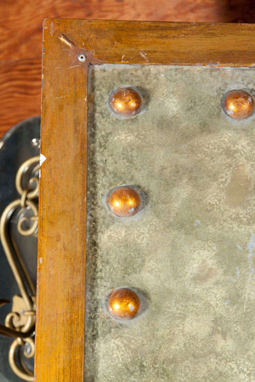 Five Studded Metal Panels 3