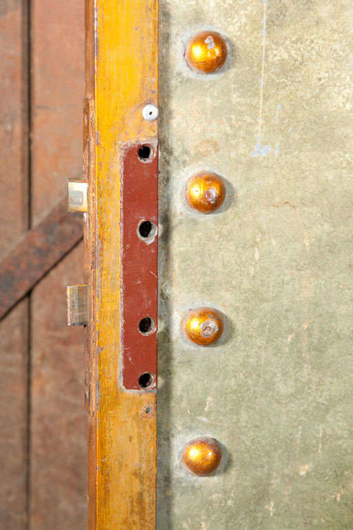 Five Studded Metal Panels 4