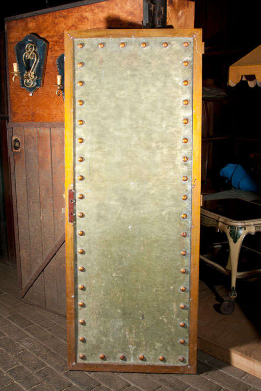 Five Studded Metal Panels 2