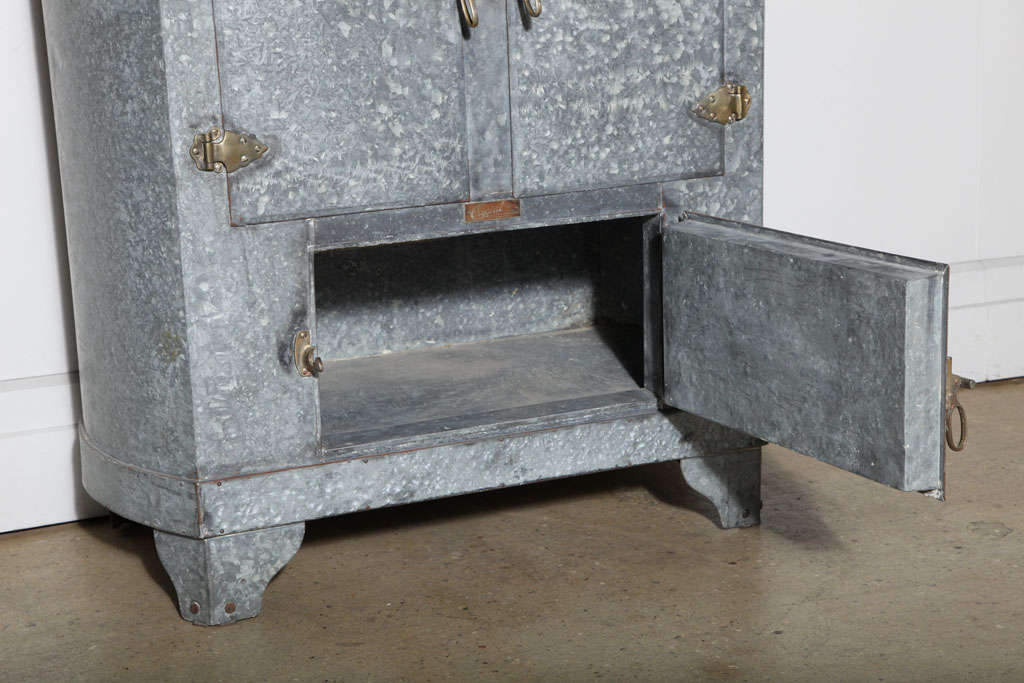 Icebox By Crystal Refrigerator Co At 1stdibs