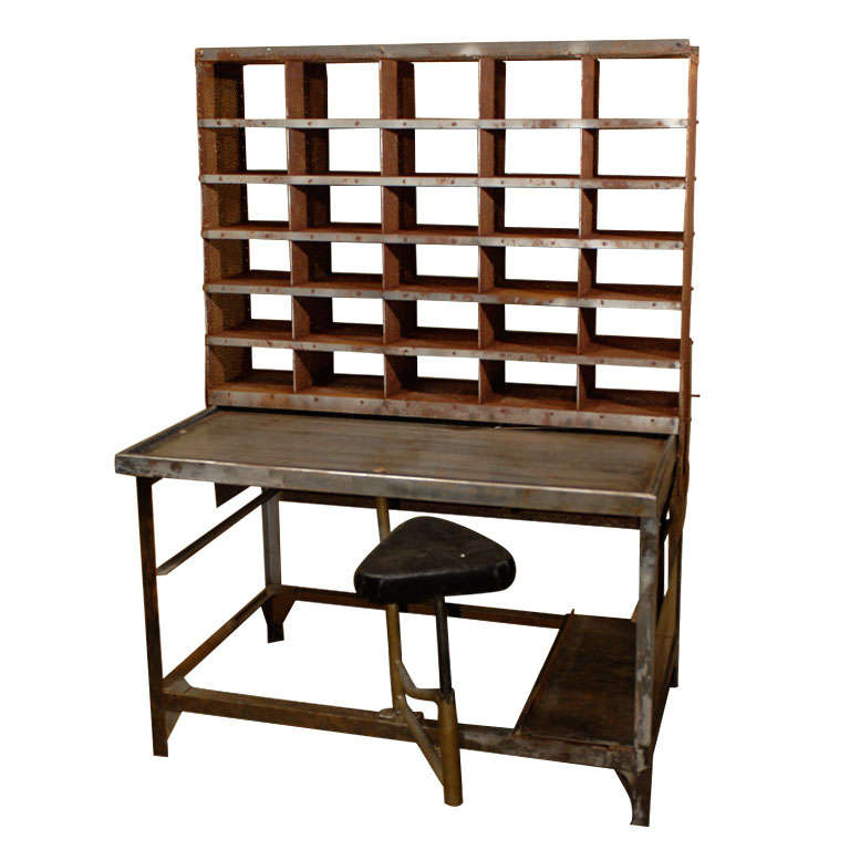 French Industrial Post Office Desk At 1stdibs. Treadmill With Desk. Lift Top Storage Coffee Table. Physical Therapy Tables. Wedding Reception Table Centerpieces. Crib With Bottom Drawer. Travertine Dining Table. Adjustable Standing Desk. Lift Top Table
