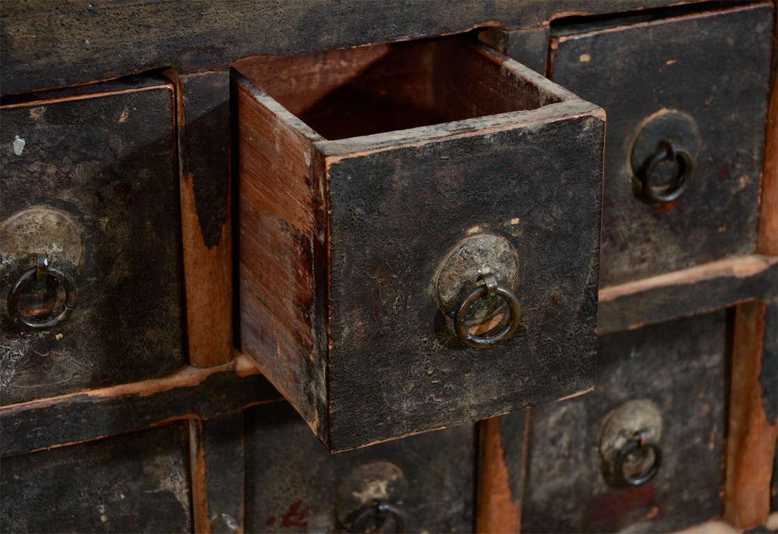 metal china cabinet