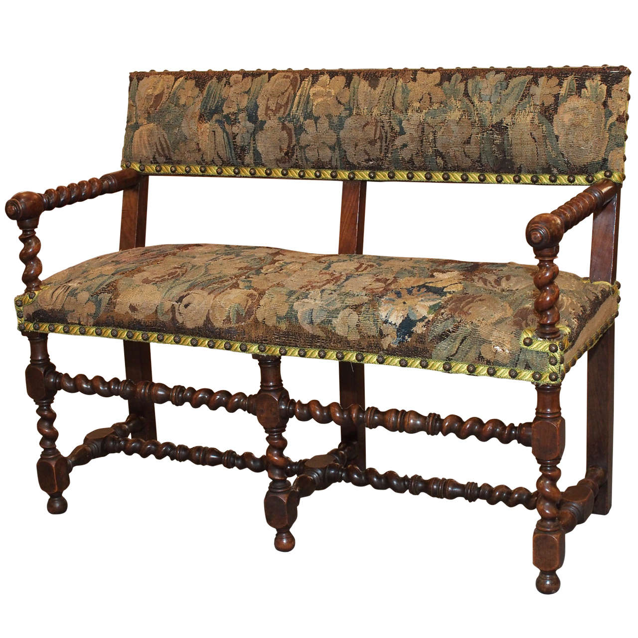 17th century french walnut bench at 1stdibs for 17th century french cuisine