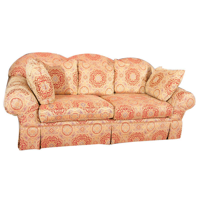 Overstuffed Sofa By Drexel At 1stdibs