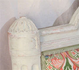 French Louis Xv1 Style Painted Day Bed image 5