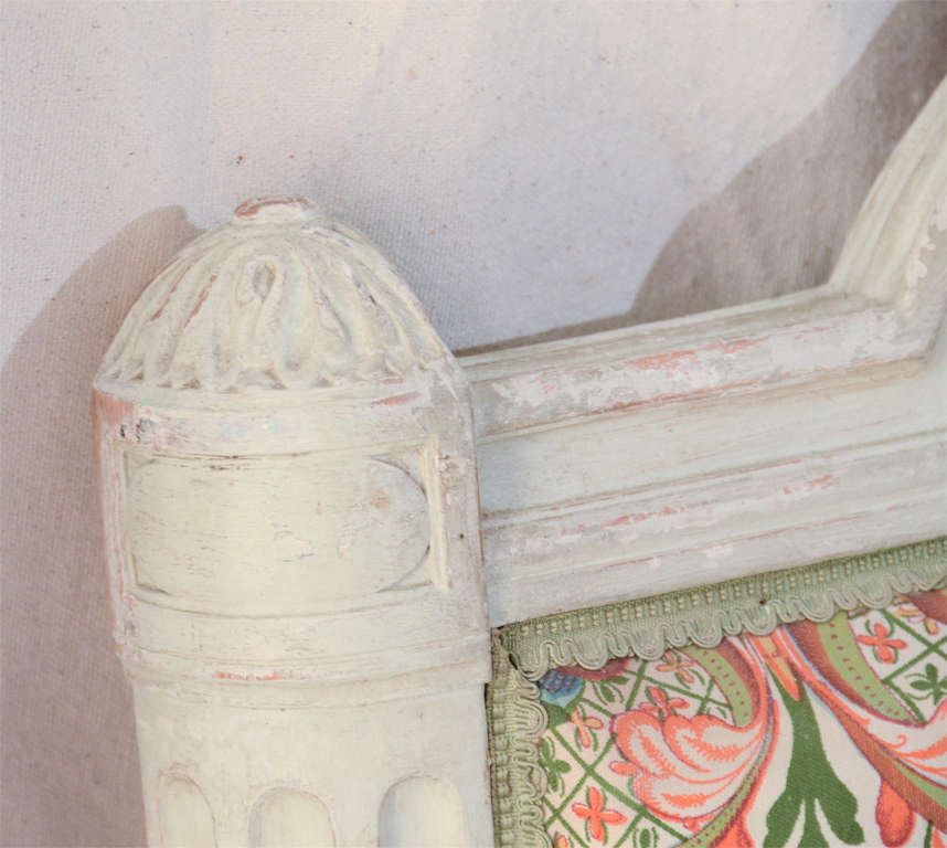 French Louis Xv1 Style Painted Day Bed 5