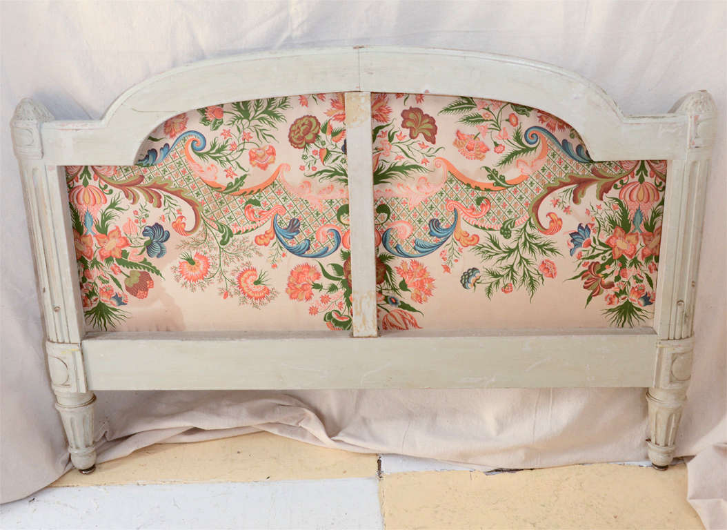 French Louis Xv1 Style Painted Day Bed 2
