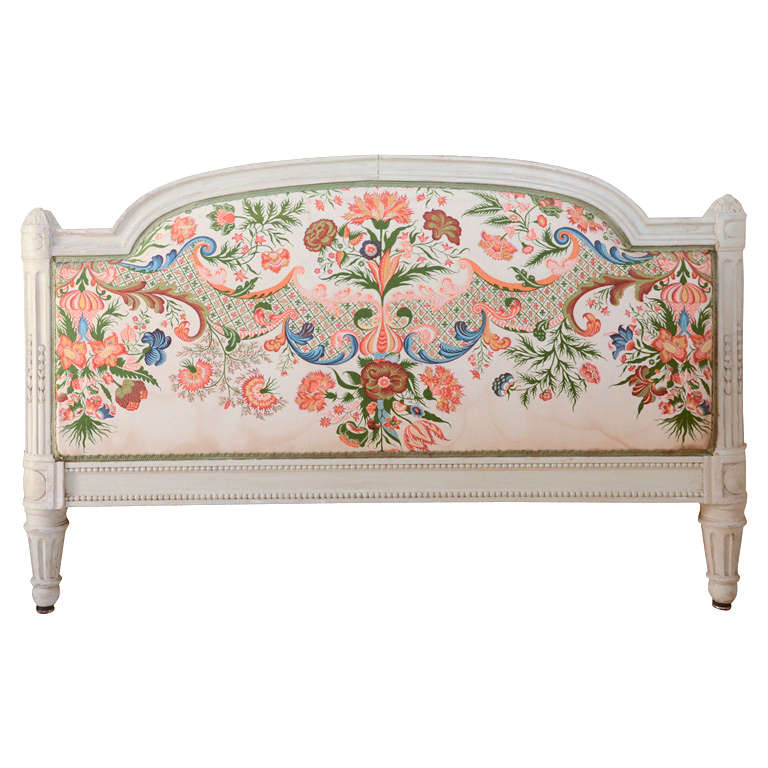 French Louis Xv1 Style Painted Day Bed 1