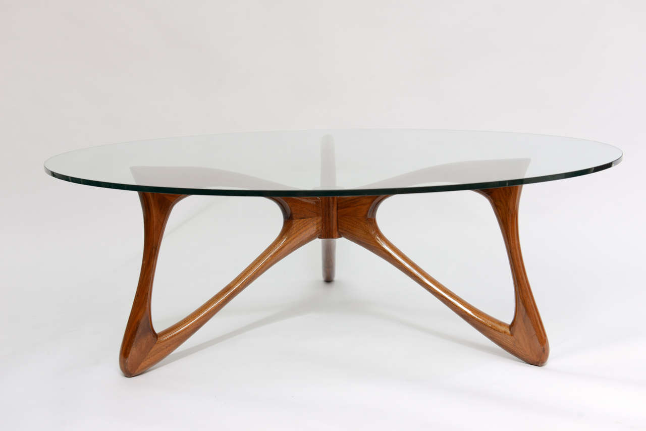 Sculptural Modern Cocktail Table By Adrian Pearsall At 1stdibs