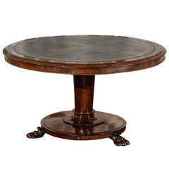 William IV Rosewood Tilt-Top Table