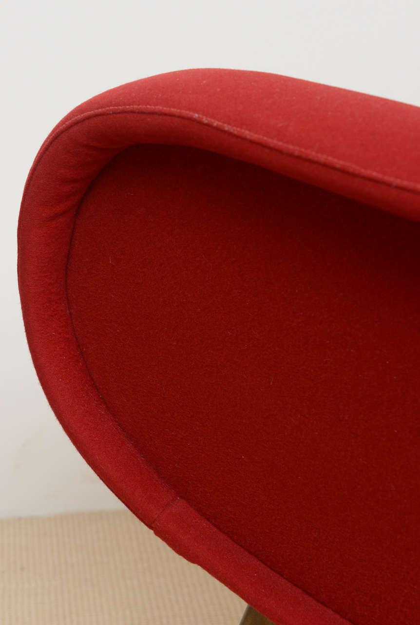 Pair of Italian Modern Armchairs, Marco Zanuso For Sale 3
