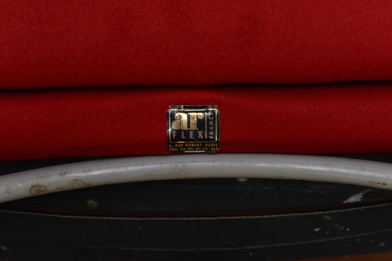 Pair of Italian Modern Armchairs, Marco Zanuso For Sale 4