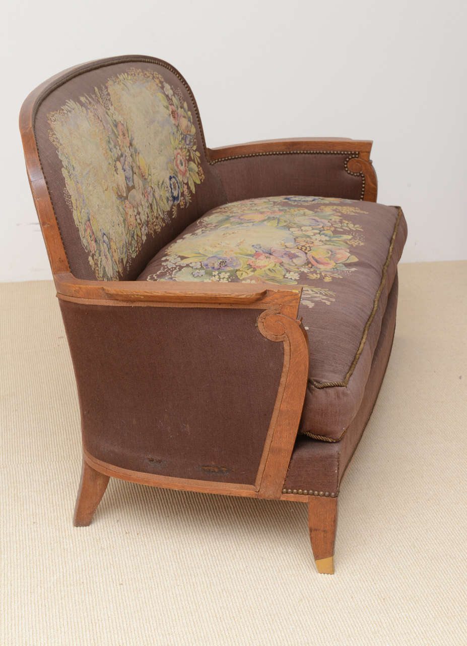 Rare And Important Suite Of Late Art Deco Furniture By