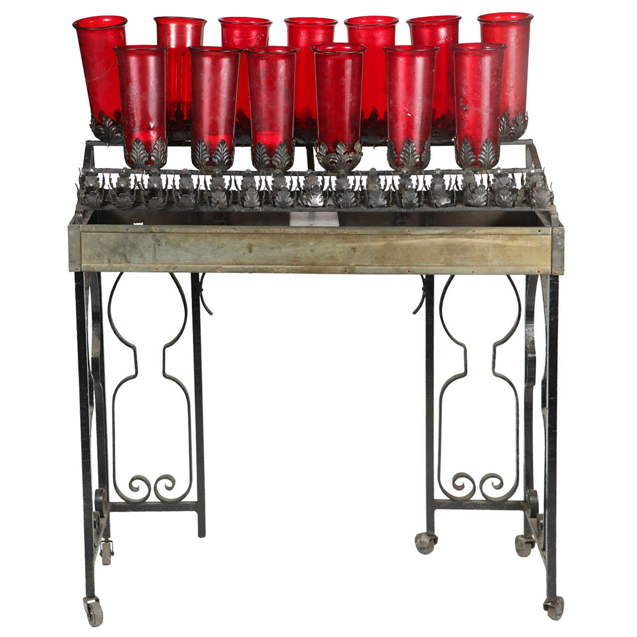 Church Votive Candle Stand At 1stdibs