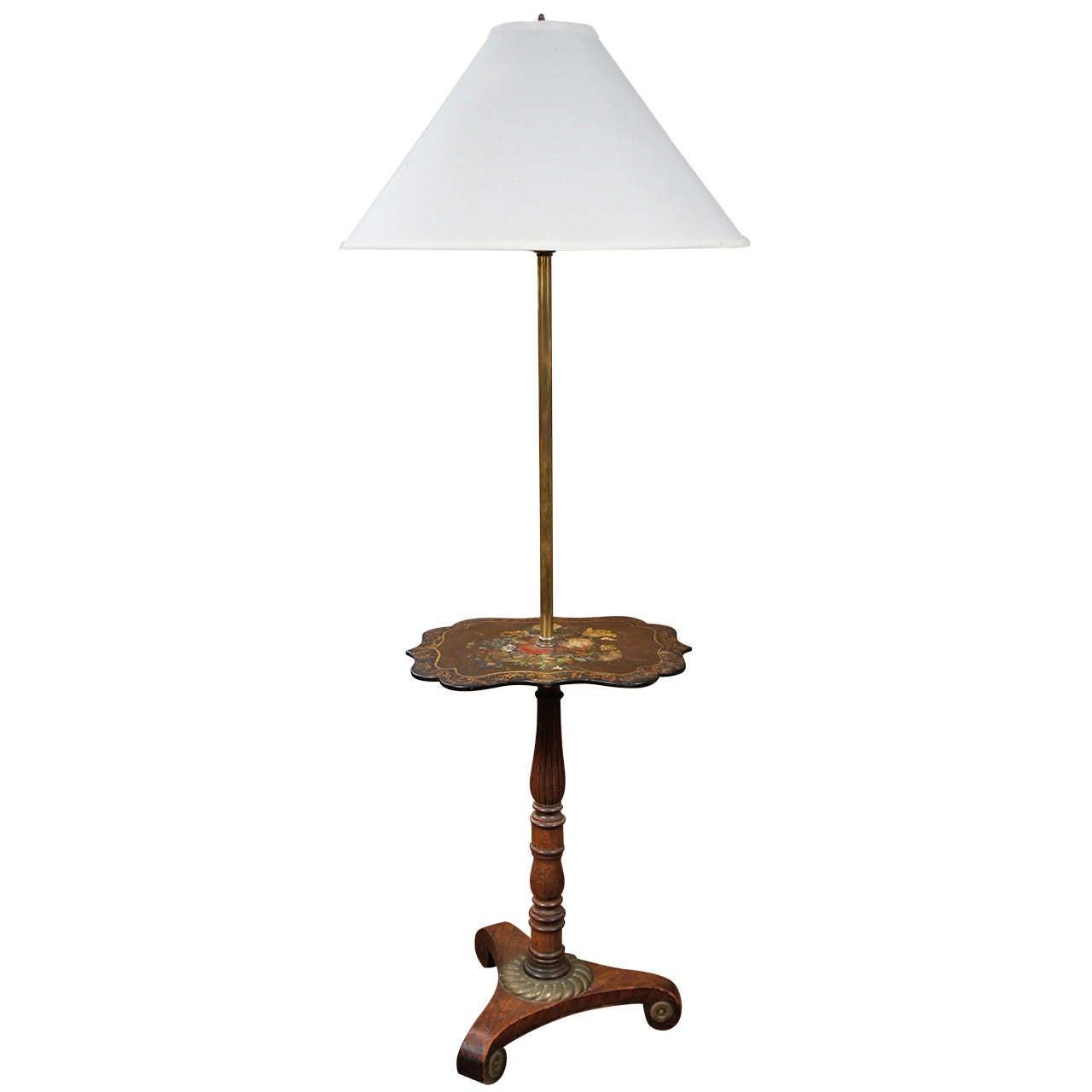 black lacquer parcel gilt pole screen lamp for sale at 1stdibs. Black Bedroom Furniture Sets. Home Design Ideas