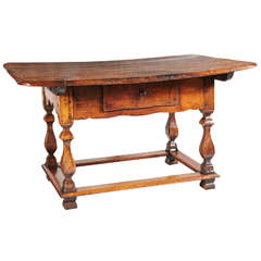 17th Century Cherrywood Table from France