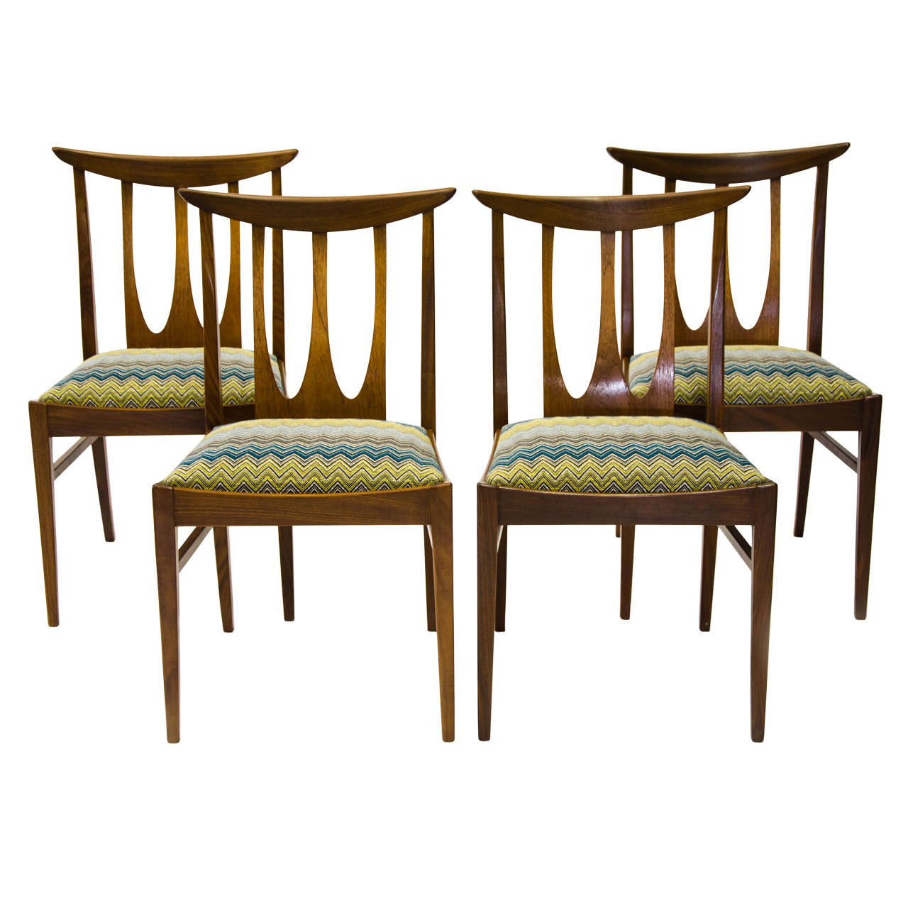 British 1960s set of g plan dining chairs at 1stdibs for G plan dining room chairs