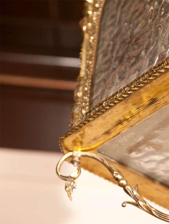 Gilt Bronze Lantern For Sale 1
