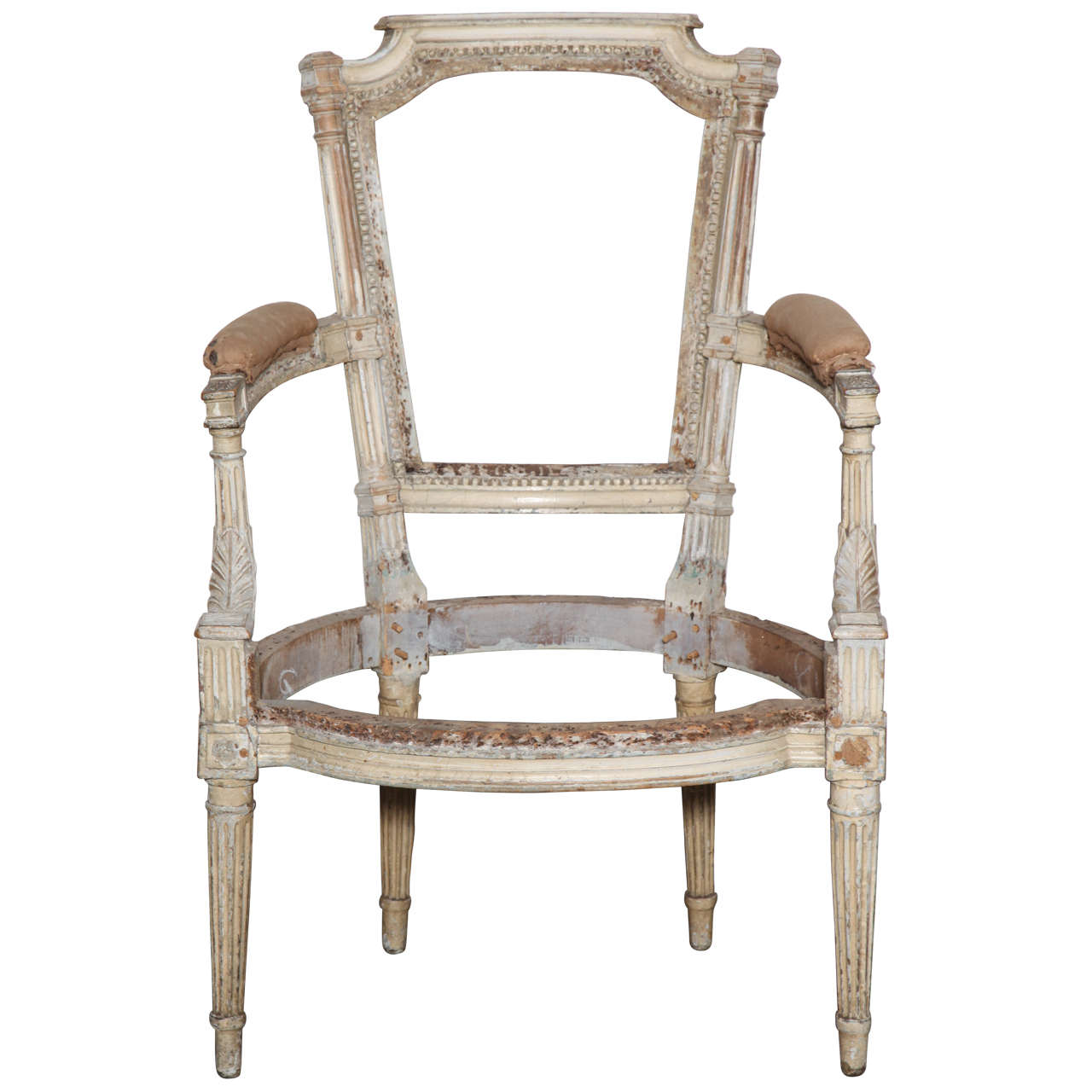 Louis XVI Chair Frame For Sale at 1stdibs