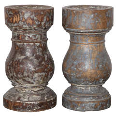 Pair of French Provincial Mortars