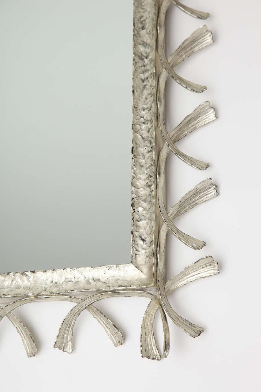 "William P. Sullivan,""La Mer"", Unique Bronze Mirror, USA, 2011 3"