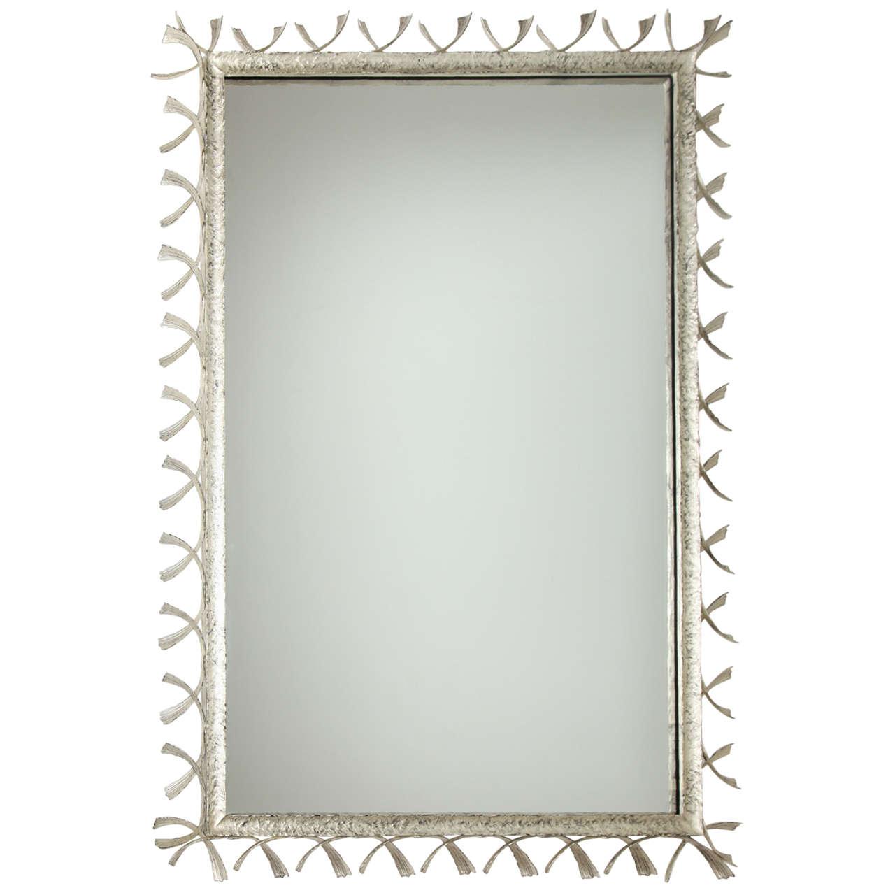 "William P. Sullivan,""La Mer"", Unique Bronze Mirror, USA, 2011 1"
