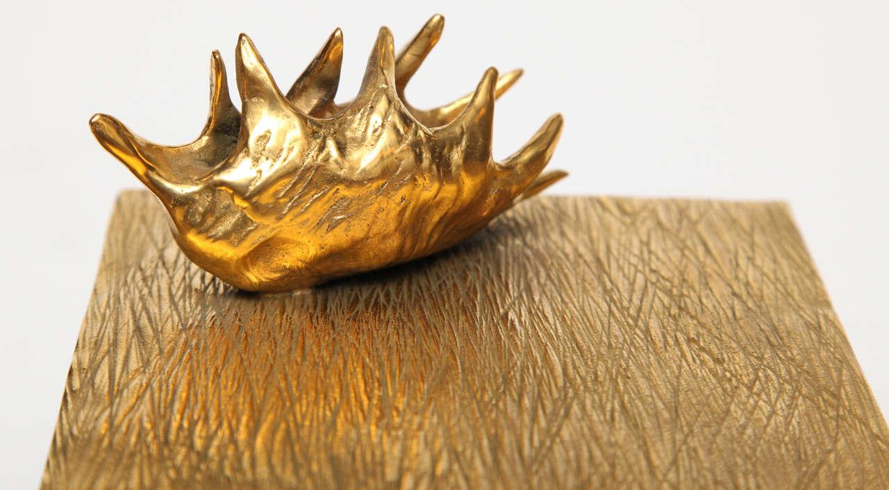 """Aldus, """"Dionaea,"""" Bronze an Oak Box, Italy, 2013 4"""