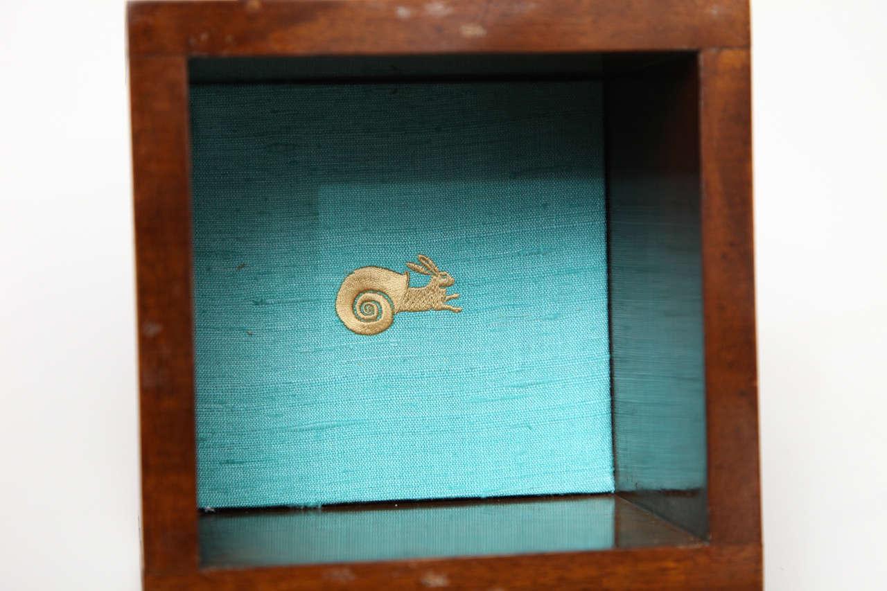 """Aldus, """"Dionaea,"""" Bronze an Oak Box, Italy, 2013 7"""