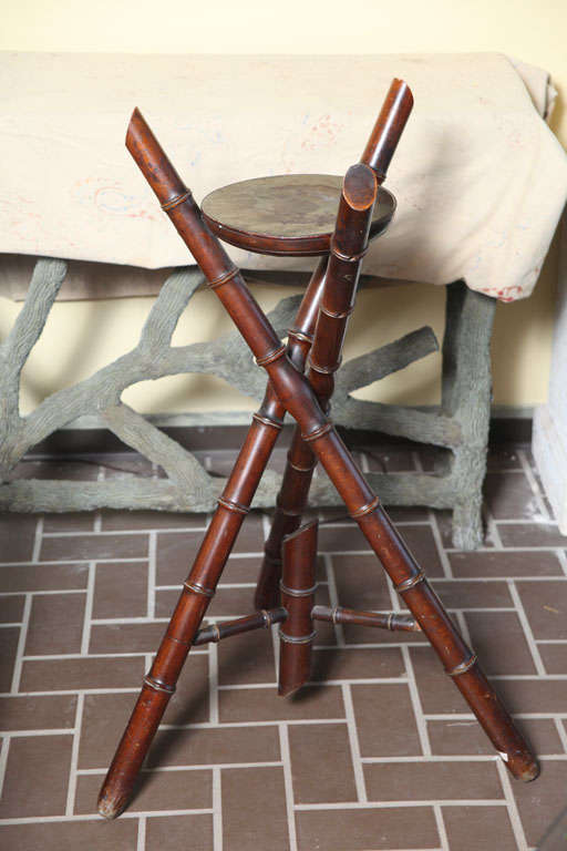 Antique Bamboo Stand At 1stdibs