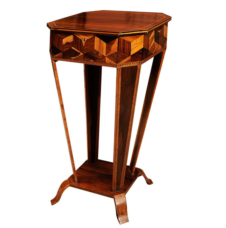 unusual regency side table at 1stdibs