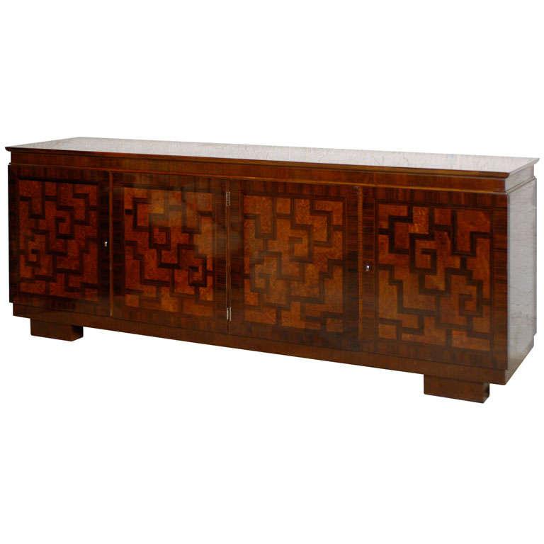 art deco sideboard at 1stdibs. Black Bedroom Furniture Sets. Home Design Ideas