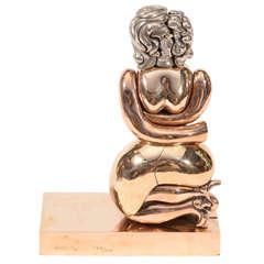Rare Berrocal Puzzle Sculpture La Totoche