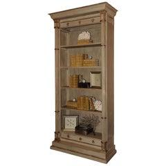Grand Scale Neoclassical Bookcase