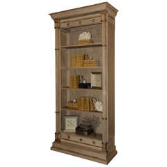 Candace Barnes Now Designed Neoclassical Bookcase