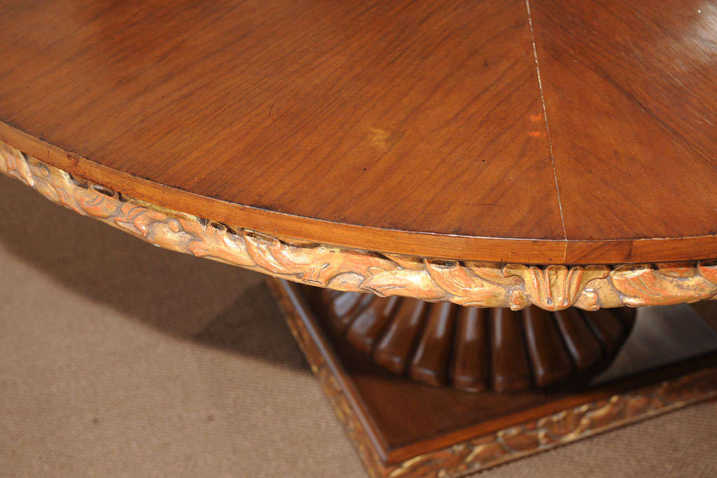 Gilt Candace Barnes Now Dining Table For Sale